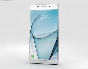 Samsung Galaxy A9 Pro 2016 White 3D
