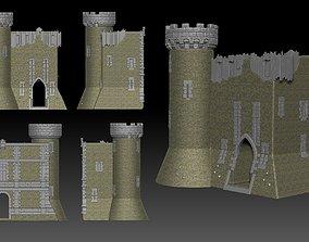Castle Du Fou 3D asset