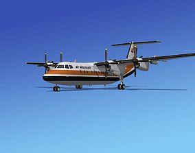 3D model Dehavilland DHC-7 Air Wisconsin