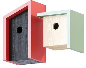 3D model Modern Minimalist Birdhouse