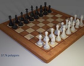 3D asset Chess game