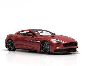 3D Aston Martin Vanquish car