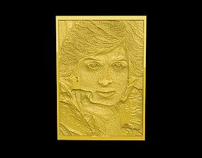 3D print model Princess Lady Diana