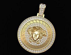278 Luxury Diamond Versace Pendant 3D print model