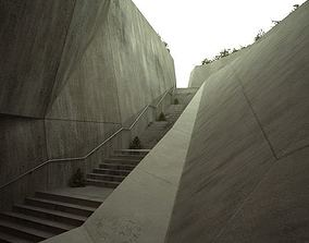 3D Long Stairs
