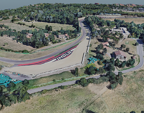 3D Imola Racing Circuit