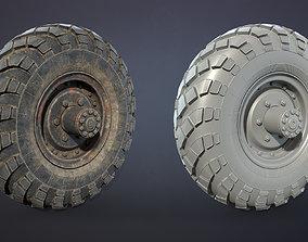 Truck Wheel 02 GAZ-66 3D asset