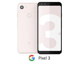 Google Pixel 3 Not Pink 3D model