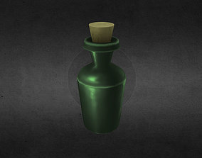 Bottle 3D asset
