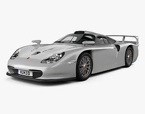 3D model Porsche 911 GT1 Stradale 993 1996