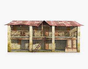 3D asset Slum a