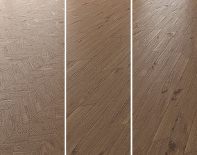 3D Parquet Oak Vergne Wild Wood set 6