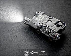 ATPIAL ANPEQ15 Laser - IR Laser Sight and IR 3D model