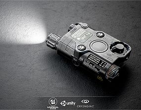 ATPIAL ANPEQ15 Laser - IR Laser Sight and IR 3D asset 1