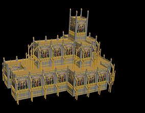 3D model Imperial Shrine Cathedral High Poly