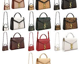 3D YSL Saint Laurent Cassandra Mini Top Bag