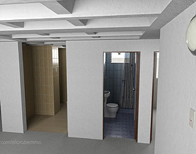 Basic Apartment 54 square meters 3D model