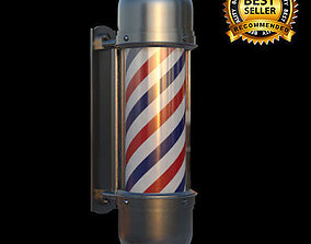lighting 3D Barber pole