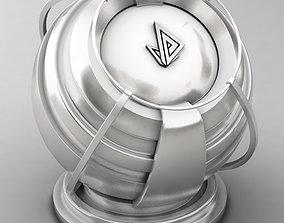 VRAY SHADER---METAL---Electrum 10 3D model