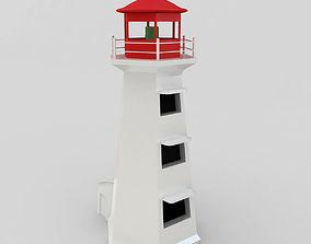 3D model navigational LightHouse