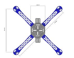 Drone Body 3D print model