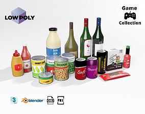Groceries 2 3D asset