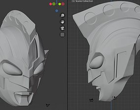 Ultraman Z Beta Smash 3D printable helmet