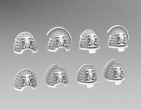 4tk Deathvigil Shoulderpads 3D print model