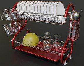 interior-design 3D model Dishes