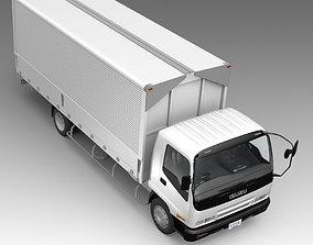 3D Commercial truck