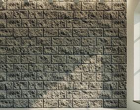 Brick wall Old brick 26 3D model