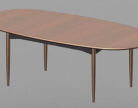 Parker Dining Table 3D print model