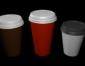 pint 3D Coffee Cup 1