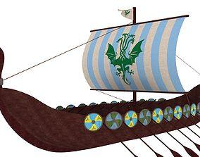 Viking Ship 2 3D model