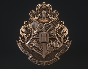 Hogwarts Crest 3D printable model