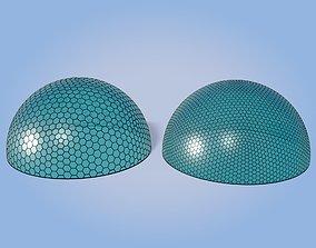 Architectural Domes V3 3D asset