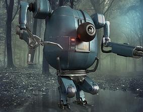 3D model PBR Detailed Robot