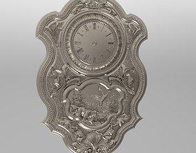 wall clock 3D print model 3d