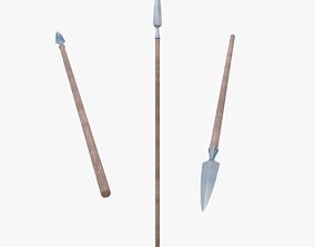 Javelin 3D model