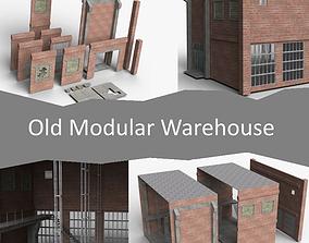 3D asset Old Modular Warehouse