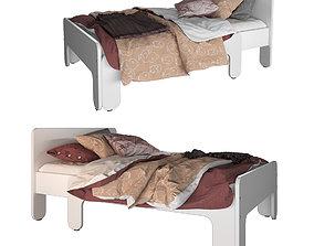 3D Extendable bed IKEA - SLAKT