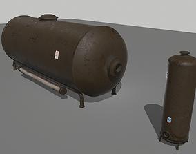 Industrial Tank 2 3D model