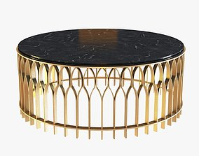 3D model Brabbu Mecca Round Coffee Table