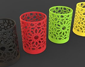 Arabic Decoration Pen Holder 3D printable model