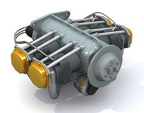 Aircraft Engine 3D model