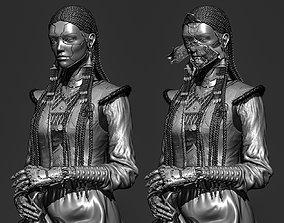 Cyber-Girl 3D printable model