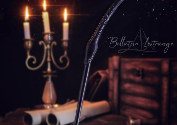 Bellatrix Lestrange Wand - Harry Potter