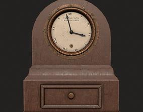 3D model Antique Clock - Free