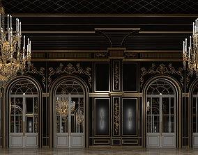 3D model Classic Interior Scene 315