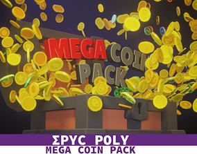 3D model EPIC POLY - Mega Coin Pack With Two Free Gift